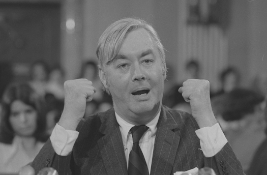 Daniel Patrick Moynihan before Senate Committee