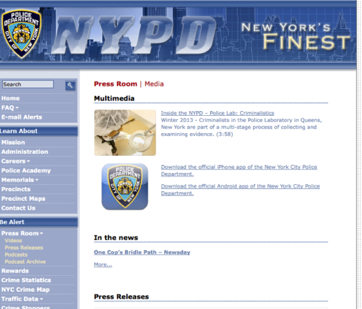 NYPD Info