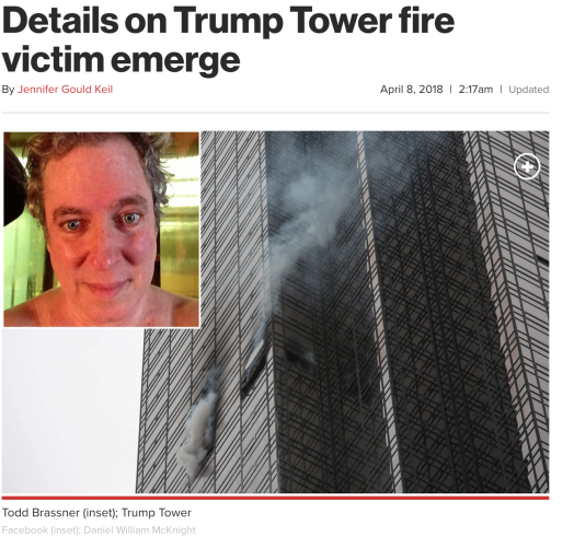 Trump Tower Fire Victim
