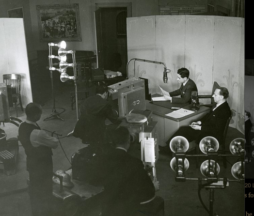 Lowell Thomas Broadcast